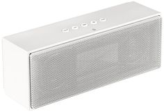 Amazon.com: AmazonBasics Wireless Bluetooth Dual 3W Speaker with Built-in Microphone - White: Home Audio & Theater