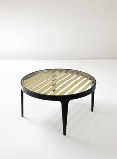 design, Italie, Gio Ponti, table basse, 1950', ©DR