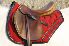 Famous Saddle Pad in France, also wearing in International competition for example by Penelope Leprevost. The Brand is Paddock Sports (named before Paddock by LN). You can custom your own saddle pad: choose principal colors and piping !