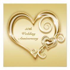 50th anniversary hearts