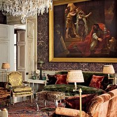Tour the Top Floor of Pierre Bergé's Paris Apartment : Architectural Digest