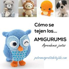 Patrones gratis de tejido al crochet, ganchillo, dos agujas, palillos, tricot, knitting, crochet pattern, crocheting, DIY, handmade crochet, deco Owl Crochet Patterns, Amigurumi Patterns, Crochet Stitches, Knitting Patterns, Crochet Amigurumi, Amigurumi Doll, Crochet Toys, Love Crochet, Crochet Baby