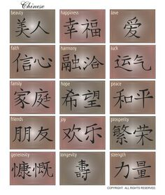 We can make Floating Frames with these Kanji Symbols. Great gift idea!