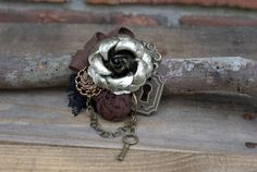 Hey, I found this really awesome Etsy listing at https://www.etsy.com/listing/185232906/steampunk-flower-fascinator-steampunk