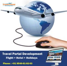 Travel portal development is a one stop solution provider for all the technology needs of travel agents, consolidators, corporate travel consultants, hotelier and tour operators. Know more : http://www.travelportaldevelopment.com/