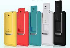 Asus PadFone Mini - is made available in White, Black, Yellow, Blue and Red colors