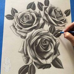 Work in progress by artist @dustinyip #wip #rosedrawing #graphitedrawing #worldofpencils .
