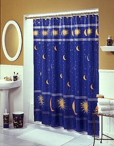 15 Best Moon Stars Images Moon Decor Bathroom Ideas Bathroom Sets