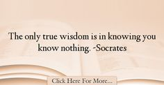 Socrates Quotes About Wisdom - 72708