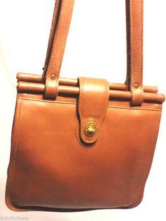 Vintage Coach Leather W...