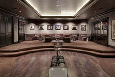 Petra Ecclestone's Spelling Manor overhaul by DOMVS London Bowling Alley