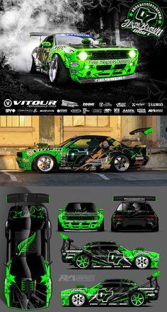 Wrap Design and Stock graphics Vinyl Wrap Car, Car Paint Jobs, Racing Car Design, Drifting Cars, Car Painting, Rally Car, Car Wrap, Sexy Cars, Car Wallpapers