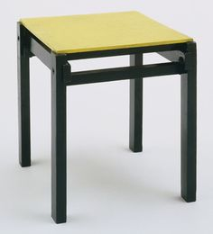 MoMA | The Collection | Gerrit Rietveld. Stool. 1923-24