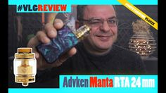 Advken Manta RTA 24 mm Greek Review - First BUILD Advken Manta RTA 24 mm Greek Review - First BUILD Περισσοτερες πληροφοριες εδω http://atmosland.com/ Parameters Size: 24mm x 46mm Capacity: 5ml/3.5ml Drip tip: 810 PEI drip tip Thread: 510 ColorBlack Gold Silver Rainbow ----------------------------------------------------------------------------------------------- Οποιος θελει να παρει το mix shot συνταγη μου Strawmurder πληροφοριες εδω http://ift.tt/2hbpEnk…