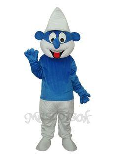 Smurf Mascot Adult Costume