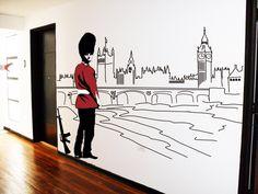 Londinense tu espacio en vinilo www.wallattach.com