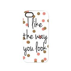 I like the way you look iPhone 5/5S Tough Case