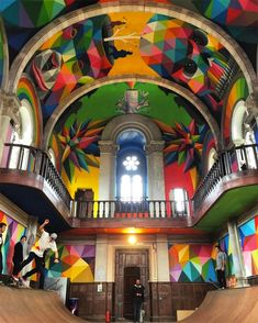 100 Year Old Church Transformed Into A Skate Park