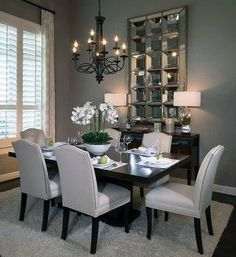 49 Gorgeous Small Dining Room Design Ideas Your dining room is a space for family meals therefore you are looking for it to have a great interior […] Dining Room Table Decor, Modern Dining Room Tables, Dining Room Lighting, Dining Room Design, Dining Room Furniture, Living Room Decor, Space Furniture, Formal Dining Rooms, Dining Sets