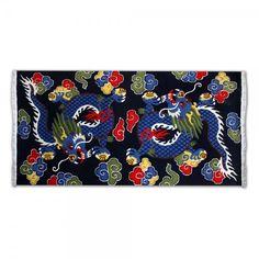 TIBETIAN DRAGON CARPETS | Home / Shop / Handicraft / Rugs & Carpets / Rug: Tibetan Dragon