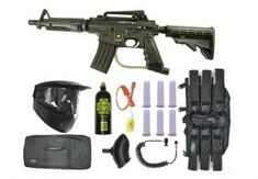 US Army Alpha Black Tactical Paintball Marker Gun Sniper Set – Black and Lowest prices