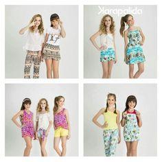 Ainda sobre o verão... Leveza e muitos prints!  #karapalida #verão2016 #kids #cute