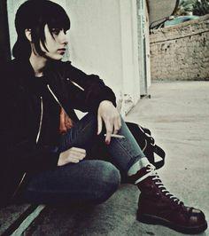 Straight lovely skingirl. Gosh How I miss those days!!!!!!!!