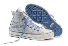 2011 New Converse Chuck Taylor All Star Beige Carte du monde High Top Chaussures de toile