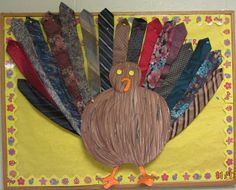 Thanksgiving Bulletin Board idea from -freebie included from The Teaching Bug!