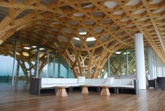 Assembly and logistics of wood projects from Blumer Lehmann