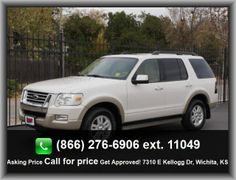 2010 Ford Explorer Eddie Bauer SUV   Stability Control With Anti-Roll Control, Instrumentation: Low Fuel Level, Privacy Glass: