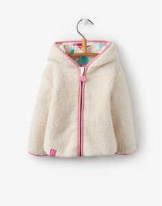 For the littlest of little girls look no further than Little Joules' collection of baby girls' clothes. Joules Uk, Hoodies, Sweatshirts, Hooded Jacket, Little Girls, Girl Outfits, Socks, Coat, Sweaters