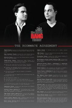 Die Mitbewohner Vereinbarung als Poster - The Roommate Agreement Poster - Big Bang Theory, http://www.amazon.de/dp/B00A3S4T7E/ref=cm_sw_r_pi_awd_aYKPsb0YY7N5P