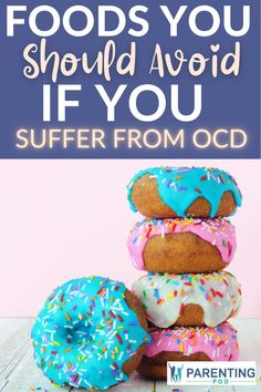 If you suffer from OCD, you should definitely start avoiding these unhealthy foods that will exacerbate your symptoms! Check out this list of foods kids and adults with OCD should stop eating.. Symptoms Check, Ocd Symptoms, Kids Nutrition, Diet And Nutrition, Autism Parenting, Parenting Tips, Ocd In Children, Foods That Contain Gluten, Types Of Anxiety Disorders