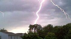 First Day of Summer Lightning by weaverbl, via Flickr