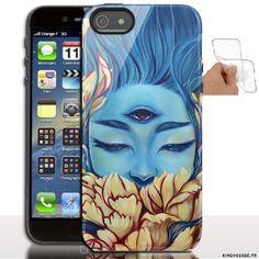 Étui iphone 5 en Silicone personnalisé CyClope - Coque souple - Gel - Pour Apple iPhone 5s, iPhone 5. #Etui #iPhone5s #Silicone #originale