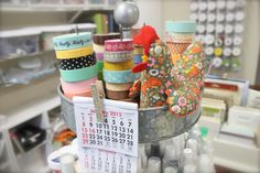 Mish Mash: Project Life Organization....My Work Space + Favorite Products