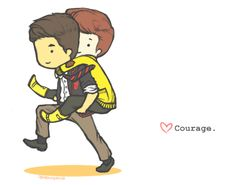 Klaine fan art  #Glee
