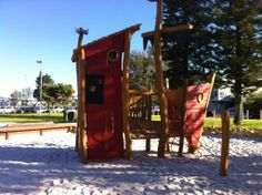 Mullaloo Beach Playgrounds - Buggybuddys guide for families in Perth Perth, Playground, Landing, Pirates, Children Playground, Outdoor Playground