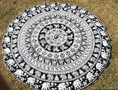 Elephant Mandala Round Mandala Beach Towel Throw Roundie ... https://www.amazon.com/dp/B01EVMOWU6/ref=cm_sw_r_pi_dp_ueUBxbA3TD9Q0