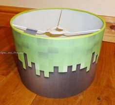 Handmade minecraft creeper quilt 42 x 52 by wheelermade on etsy handcrafted ceiling lampshade lamp shade boys by giftsnpressies aloadofball Images