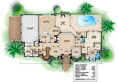 Spacious Design - 66015WE | 1st Floor Master Suite, Butler Walk-in Pantry, CAD Available, Corner Lot, Den-Office-Library-Study, Elevator, European, Florida, Loft, Luxury, MBR Sitting Area, Mediterranean, PDF, Photo Gallery, Premium Collection | Architectural Designs