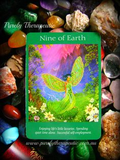 NINE OF EARTH 'Angel of Tarot' by Doreen Virtue & Radleigh Valentine https://instagram.com/purelytherapeutic
