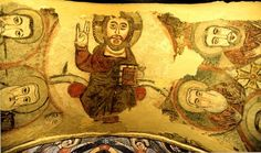 icon on ceiling of saint antony church Saint Antony, Spiritual Eyes, Saints, Icons, Ceiling, History, Interior, Artwork, Painting