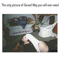 Fetus Gerard way Emo Band Memes, Mcr Memes, Music Memes, Emo Bands, Music Bands, I Love Mcr, Rawr Xd, Frank Iero, Gerard Way