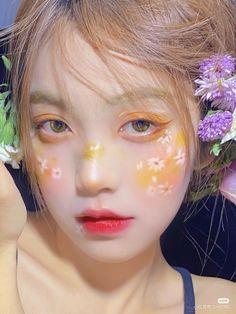 Makeup Inspo, Makeup Art, Beauty Makeup, Uzzlang Girl, Girl Face, Aesthetic People, Aesthetic Girl, Cute Makeup, Makeup Looks