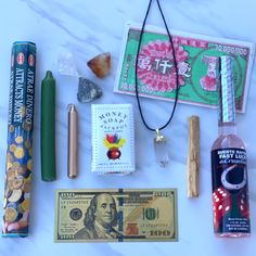 This post smelling like money 🤑😅 Did you miss out on the Money Combo last month? 👀 You can still buy all of these products in the photo to attract wealth and abundance! 💰 Products displayed 📸: -Attract Money Incense -Fast Luck Spiritual Set -Green & Gold Candle -Wealth Crystal Set -Money Jackpot Soap -Ancestor Money -Money Incense -Palo Santo -Gold Bill #SHOP for wealth & abundance tools today! 🛍️ 🔗 LINK IN BIO #lawofattraction #svctribe #manifestation