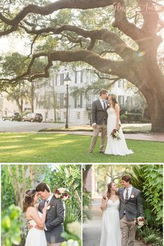 This sweet Southern bride and groom celebrated their love at their outdoor ceremony at this elopement wedding ceremony in Pulaski Square full of spanish moss and old oak trees in downtown Savannah, Georgia. Come see more from this special day. | Glowing Amber Wedding Photographer | Savannah Georgia Hilton Head | #elopement #elopementideas #elopementdestinations #elopementdress #georgiaelopement #southernwedding #weddingphotography #georgiawedding #downtownsavannah #glowingamberphotography