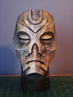 skyrim dragon priest mask papercraft