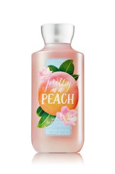 Pretty as a Peach - Luxury Bubble Bath - Signature Collection - Bath & Body Works - The fragrance you love with an all new look! Rich, creamy foam envelops skin in long-lasting, luxe bubbles. Fortified with nutrient-rich ingredients like protective Vitamin E, Jojoba and Aloe, our ultra-soothing formula leaves skin beautifully scented with irresistible fragrance.